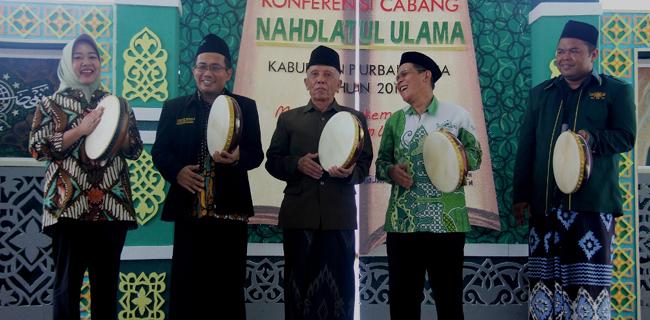 Plt. Bupati Purbalingga Menghadiri Pembukaan Konfercab NU 2018
