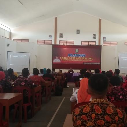 Pelatihan Sistem Informasi Desa (SID)