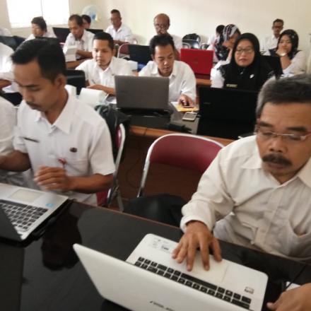 Bimbingan Tekhnis Website Desa
